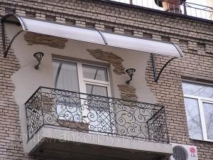 Козырек - украшение здания
