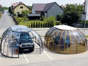 Оригинальный поликарбонатный автонавес  материала