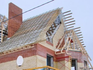Фото: Подготовка крыши под металлочерепицу