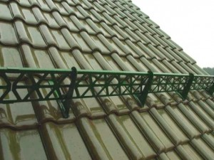 Фото: Решетчатый вид снегозадерживающих деталей